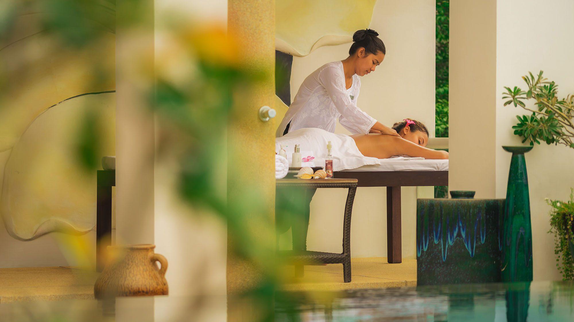 Massage at Villa Amazi in Bali